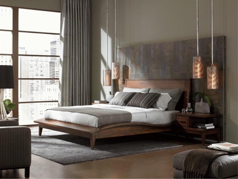 lamparas colgantes dormitorio moderno