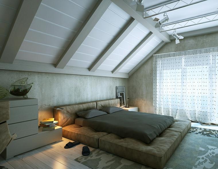 decorar habitaciones modernas atico