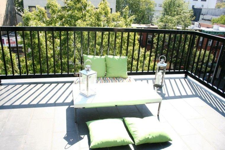 decorar minimalista muebles verdes