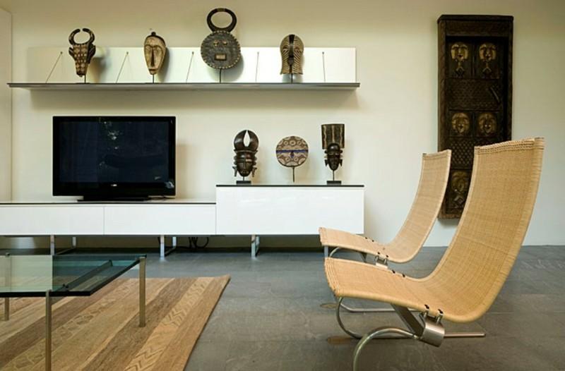 Decoracion etnica para interiores artesan a y color for Muebles africa