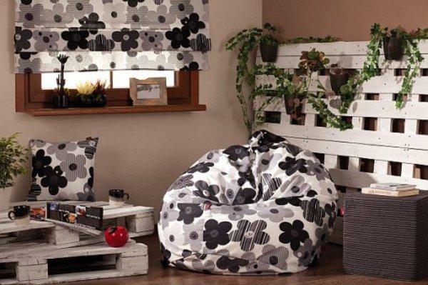 Artesania con palets cien ideas para amueblar reciclando - Palet de madera decoracion ...