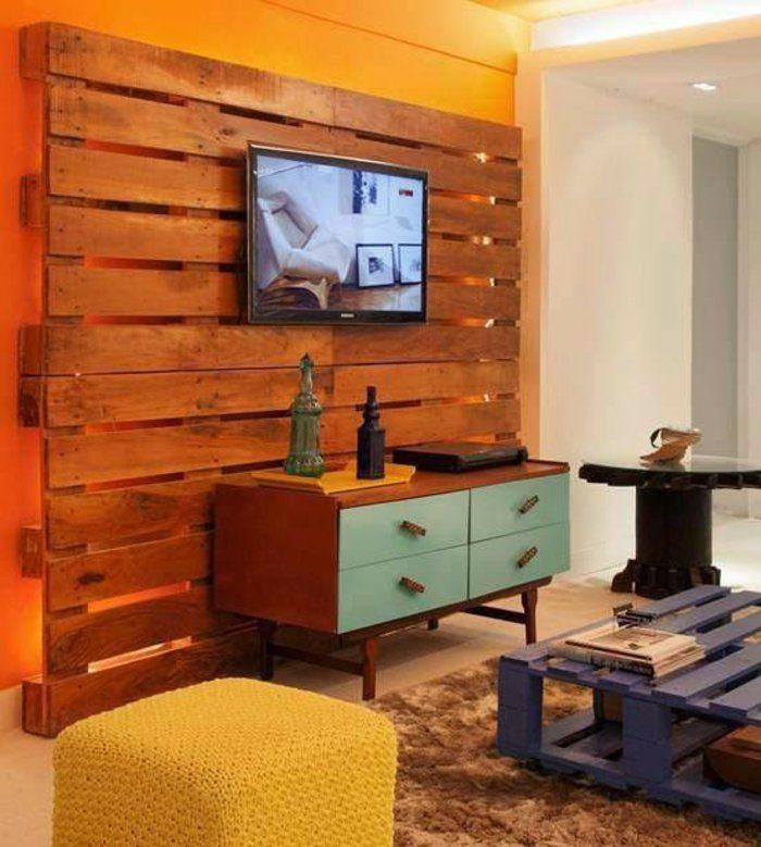 Palet de madera para decorar su hogar 100 ideas for Decoracion de interiores medellin