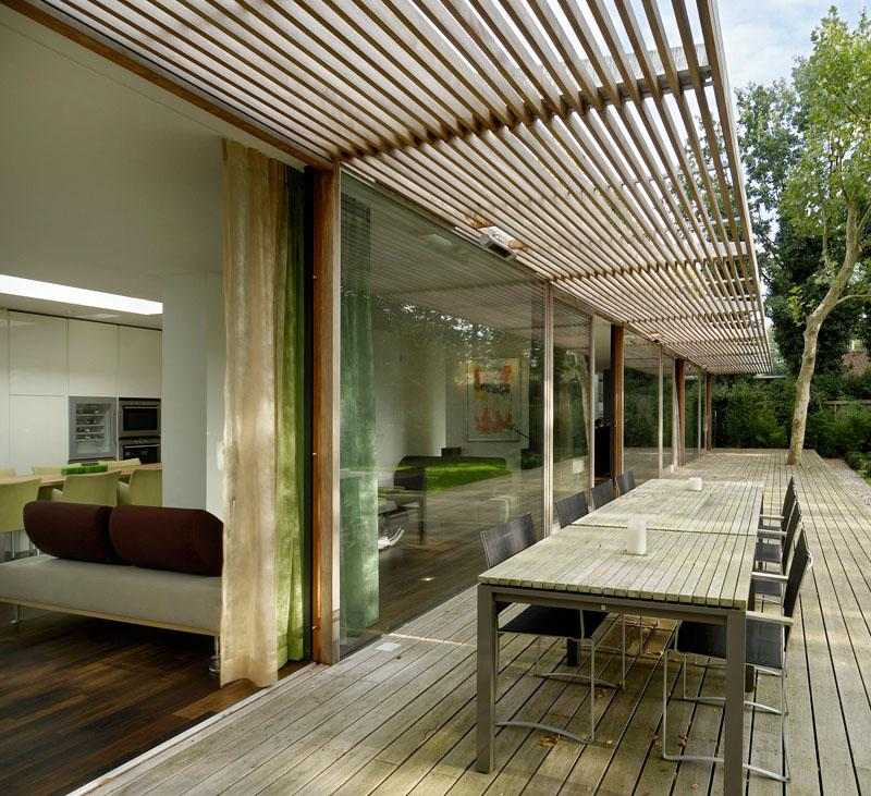 original diseño terraza madera