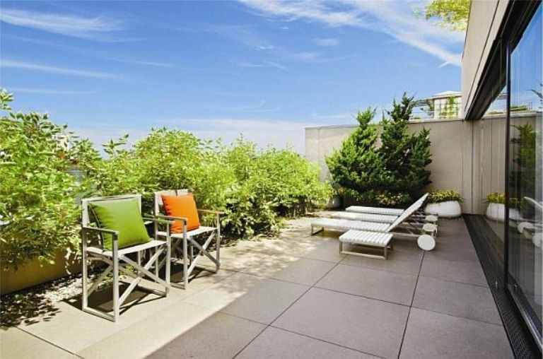 decorar terraza tumbonas vistas