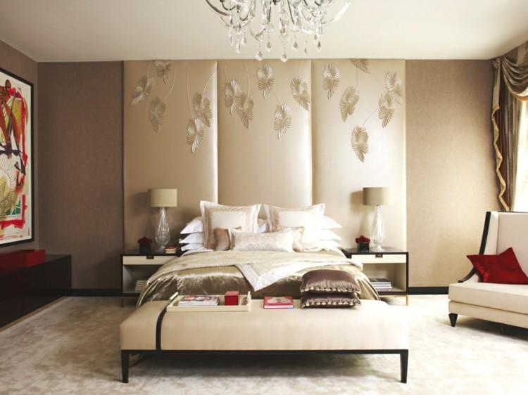 decoración habitacion adornos rojos