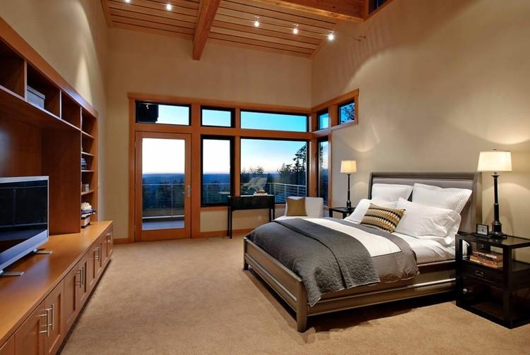 decoración habitacion elementos madera