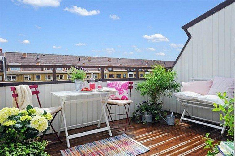 decoracion para terrazas estilo juvenil