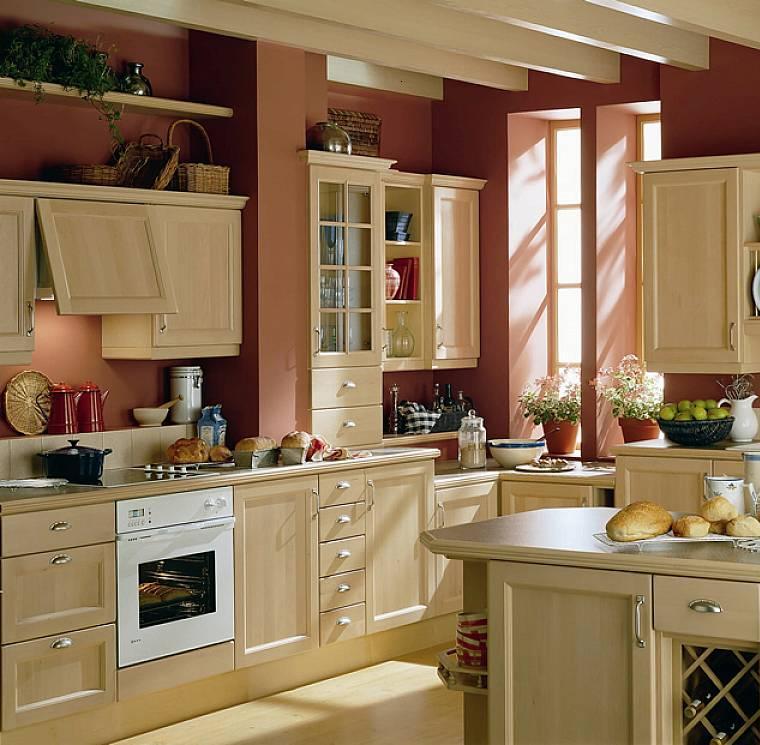 decoración de cocinas chicas muebles madera
