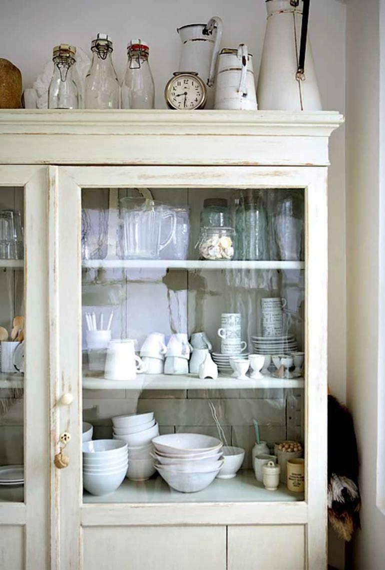 decoración de cocinas rústicas shabby chic