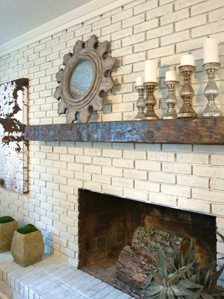 decoracion chimeneas rusticas y diseos creativos