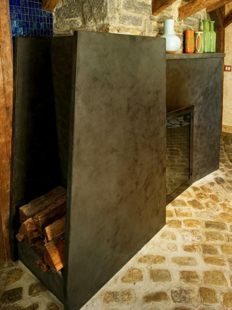 Decoracion chimeneas rusticas y calidez en 50 creaciones.