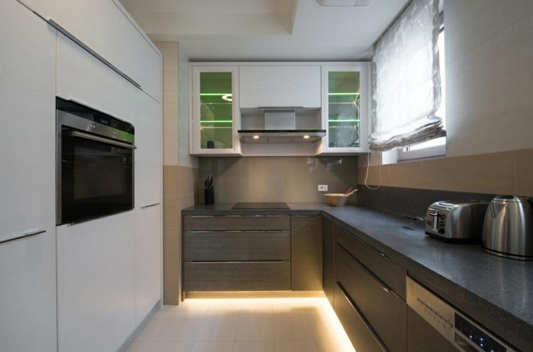 decoracion cocinas pequenas estilo minimalista ideas