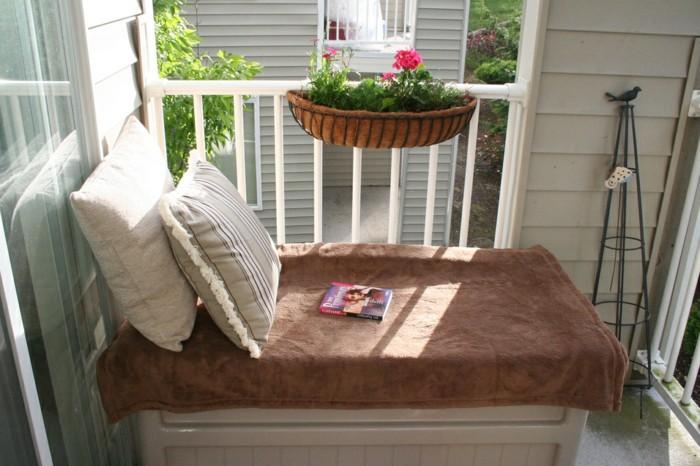 decoracion de balcones soluciones blanco plantas