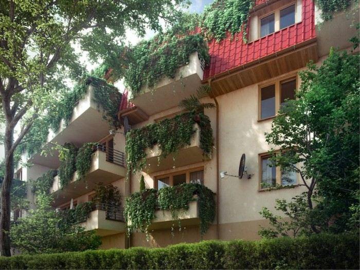 decoracion de balcones soluciones exteriores cascada