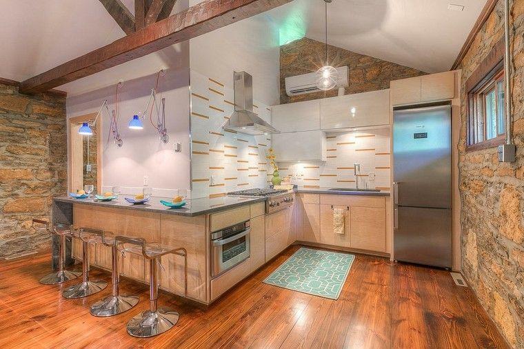 Decoracion de cocinas 36 dise os que les pueden interesar - Losas para cocinas ...