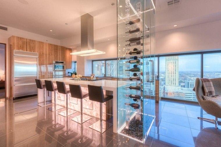 decoracion cocinas lugar vino moderno ideas