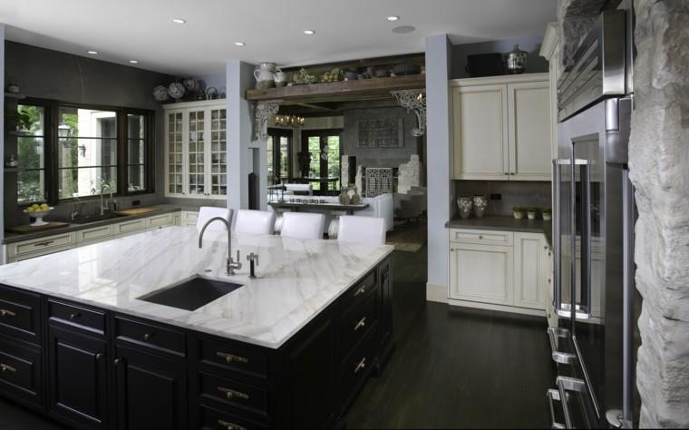 Decoracion de cocinas 36 dise os que les pueden interesar for Diseno de cocinas grandes y modernas