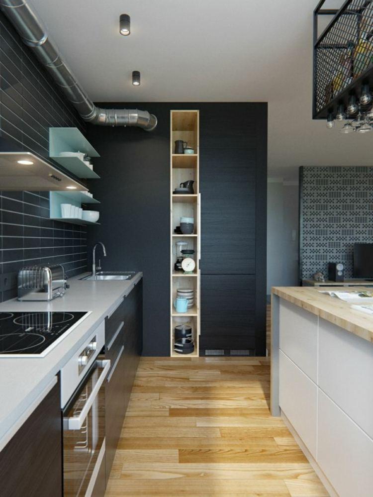 Decoracion de cocinas peque as 53 ideas interesantes - Cuisine deco design ...