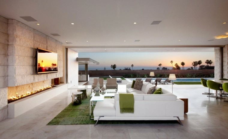 Decoracion de interiores salones modernos 36 dise os - Diseno de salon ...