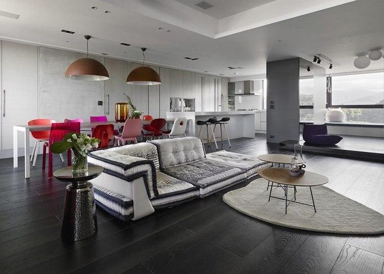 decoracion pisos salones comedores colores ideas