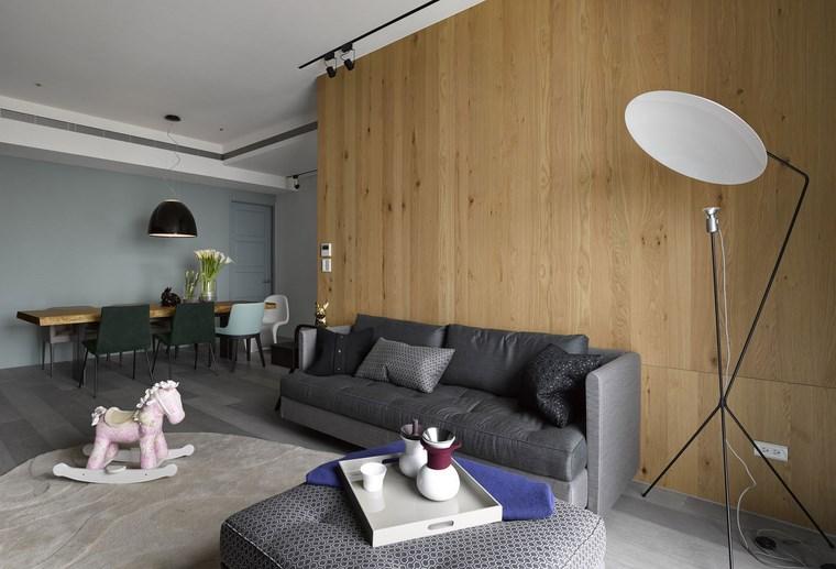 Decoracion de pisos 37 dise os de salones impresionantes for Decoracion piso gris