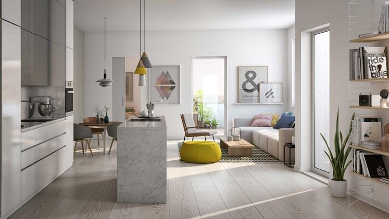 Decoracion de pisos 37 diseños de salones impresionantes -
