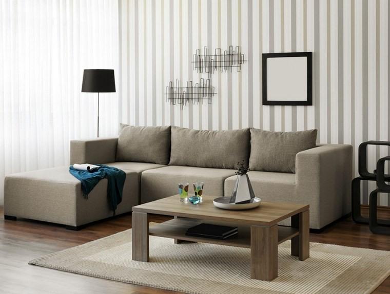 decoracion de salones modernos sofa gris ideas