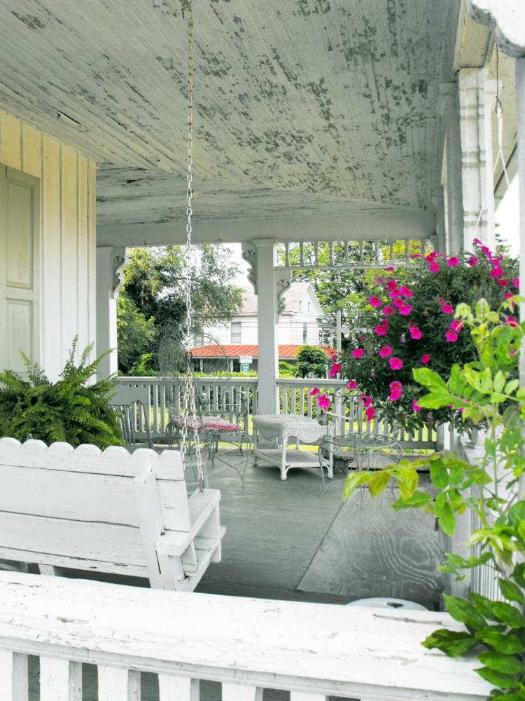 decoracion de terrazas y jardines elegantes hormigon