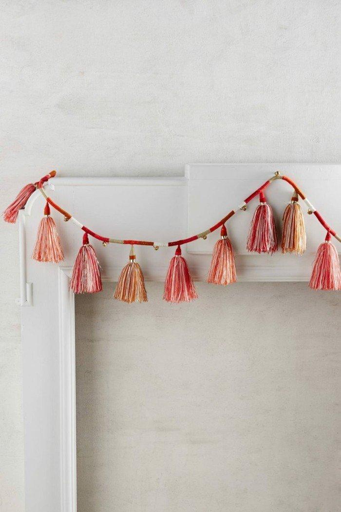 decoracion navidad estilo guirnaldas ideas