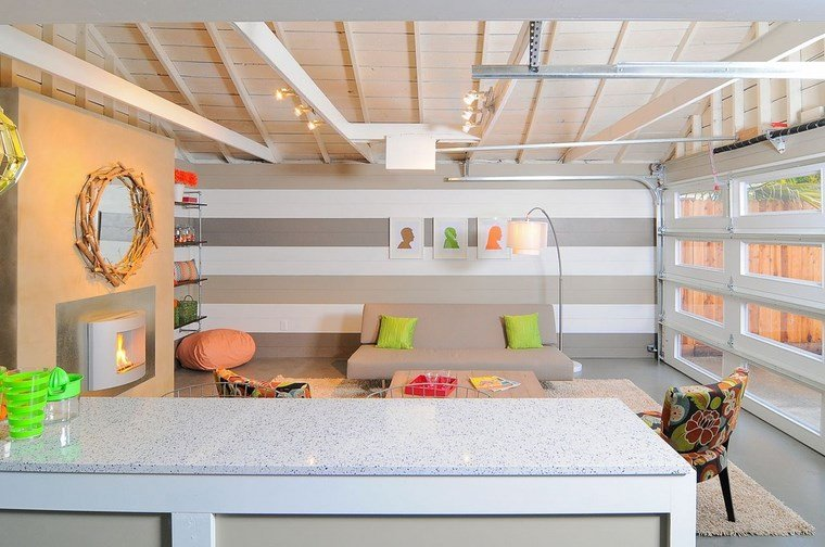 Decoracion de salones modernos 57 ideas originales - Decoracion de salones en blanco ...
