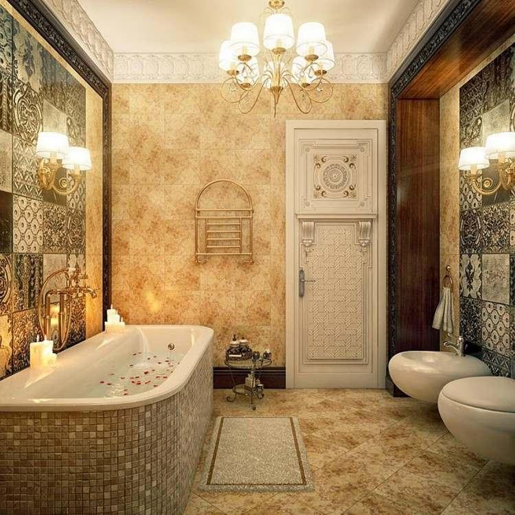 decoracion vintage y chic bañeras petalos