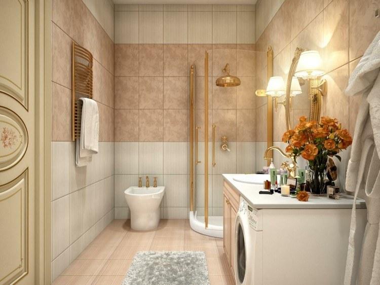 decoracion vintage y chic soluciones dorados toalla