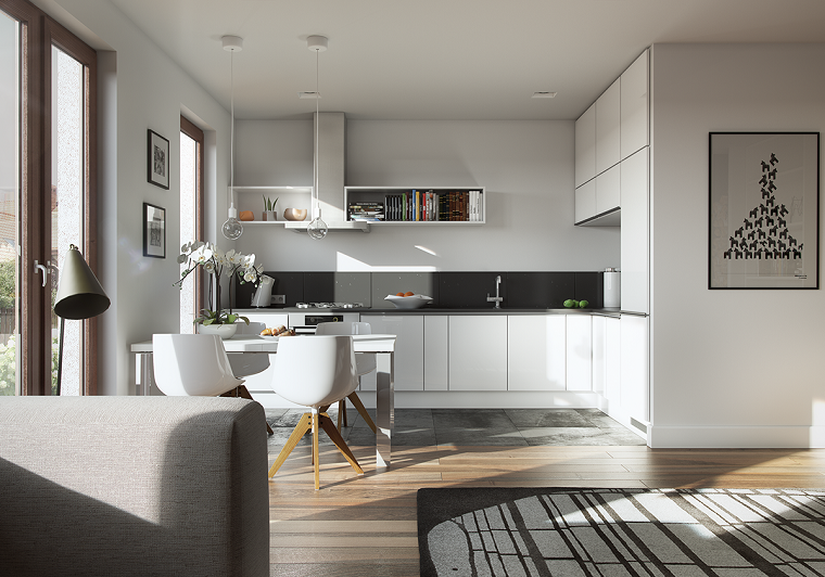 Decoraciones de cocinas sencillas ideas para el hogar -