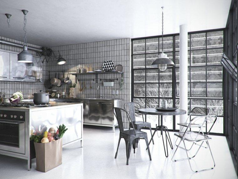 Cocina industriales familiares: diseños cocinas pequeñas modernas ...