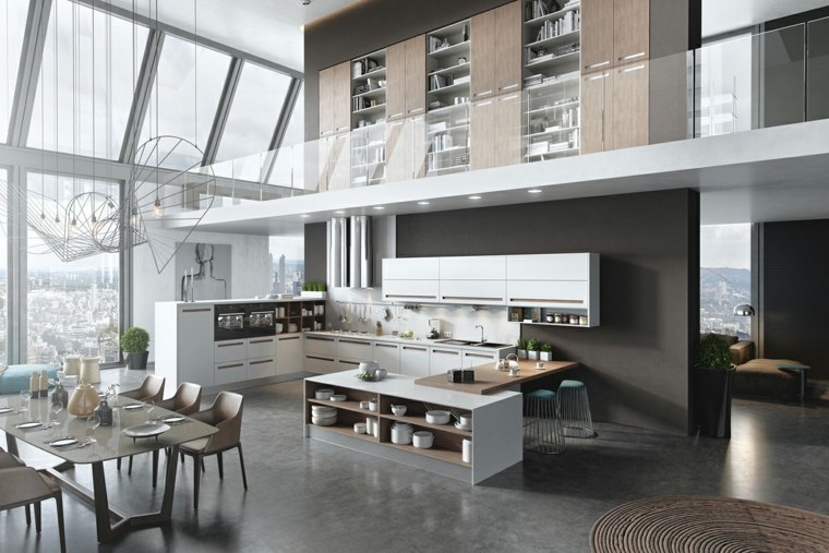 Loft De Estilo Industrial En Londres - Cocinas Tipo Loft - Mimasku.com