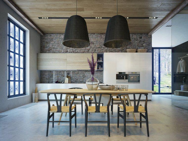 Decoraciones de cocinas sencillas ideas para el hogar - Decoraciones de mesas de comedor ...
