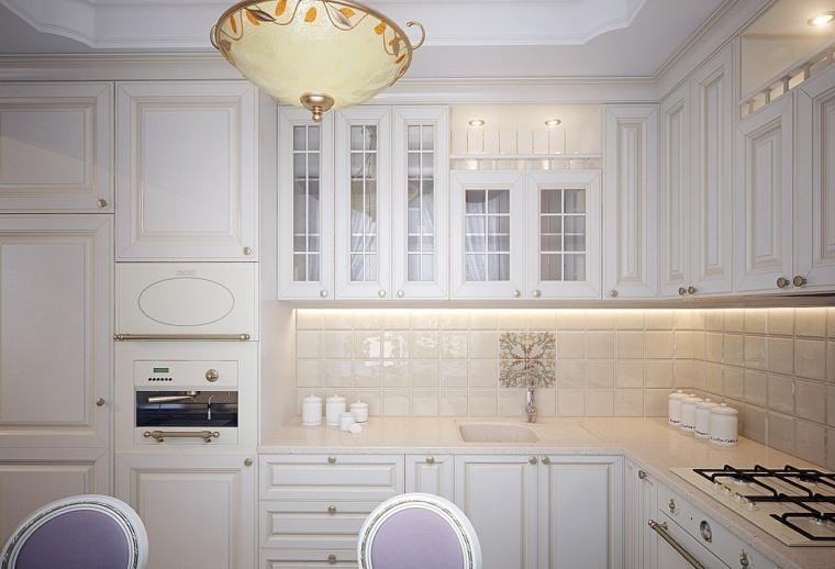 decoraciones de cocinas sencillas diseno clasico ideas