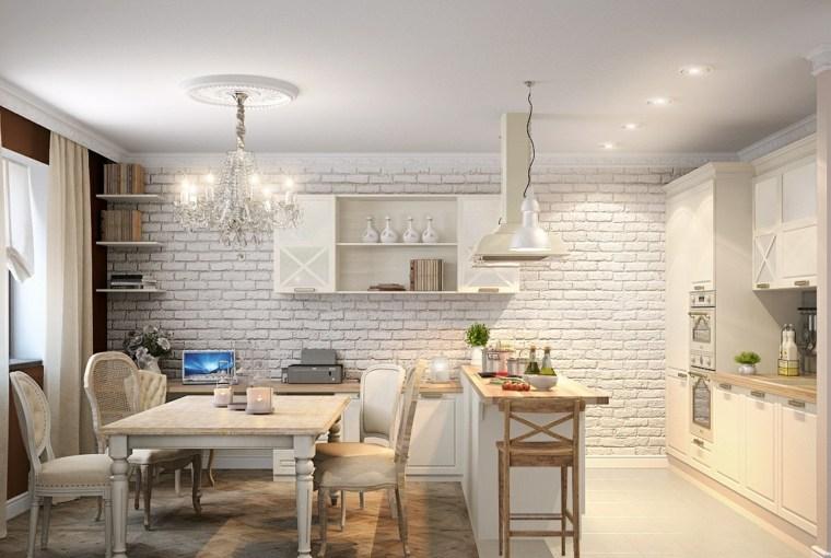 Decoraciones de cocinas sencillas ideas para el hogar - Cocina de ladrillo ...