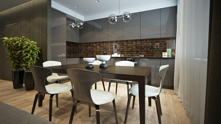Decoraciones de cocinas sencillas ideas para el hogar for Muebles para cocina comedor