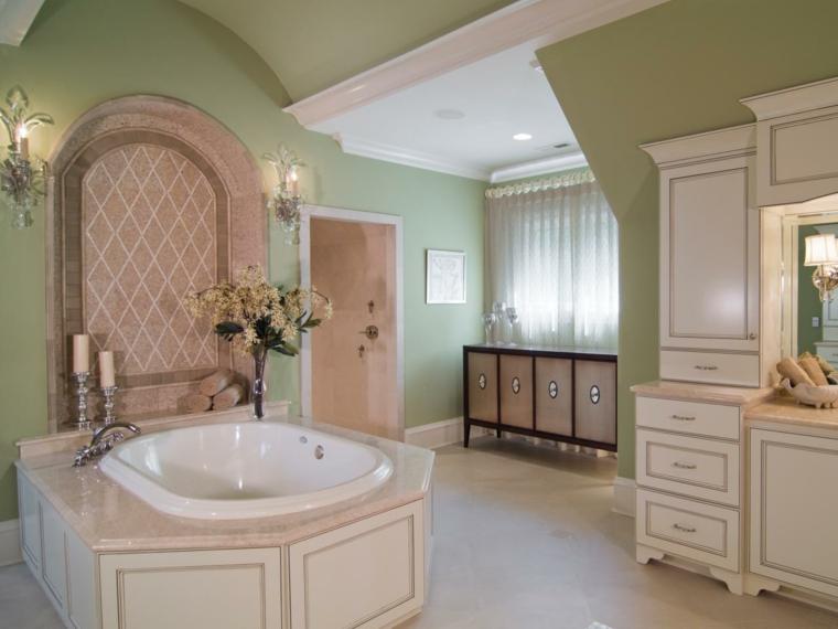 decoraciones de cuartos de baño lavabos clasico tonos