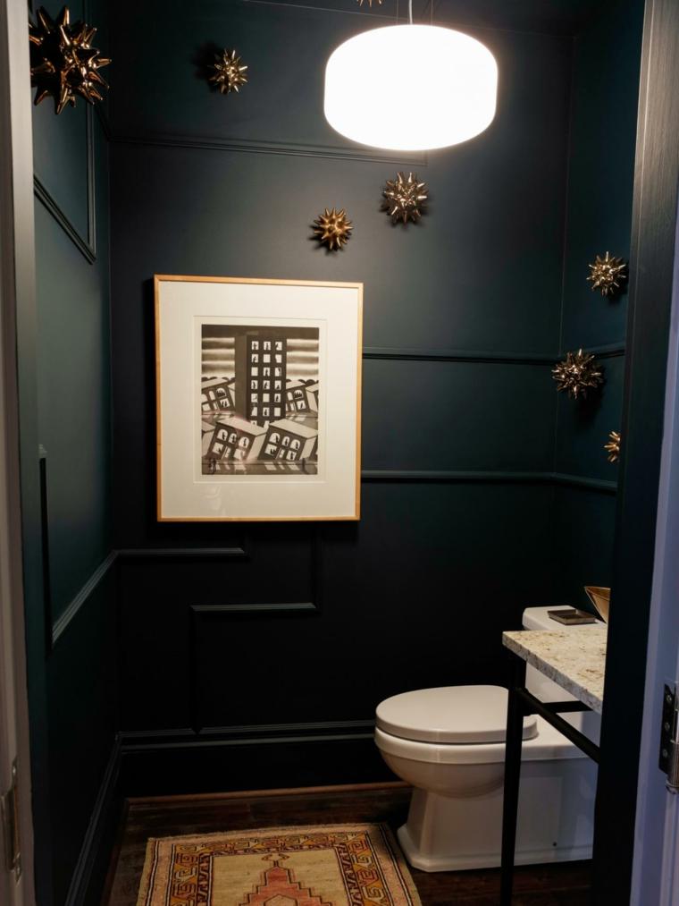decoraciones de cuartos de baño marnol verde