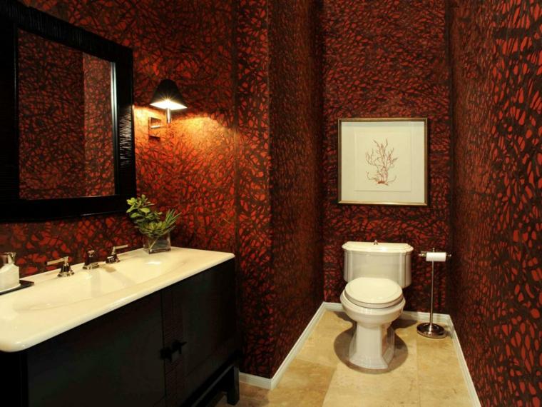 decoraciones de cuartos de baño soluciones paredes