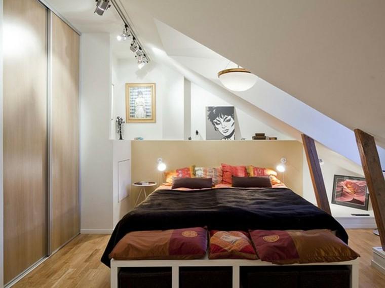 decoración dormitorios muy pequeños