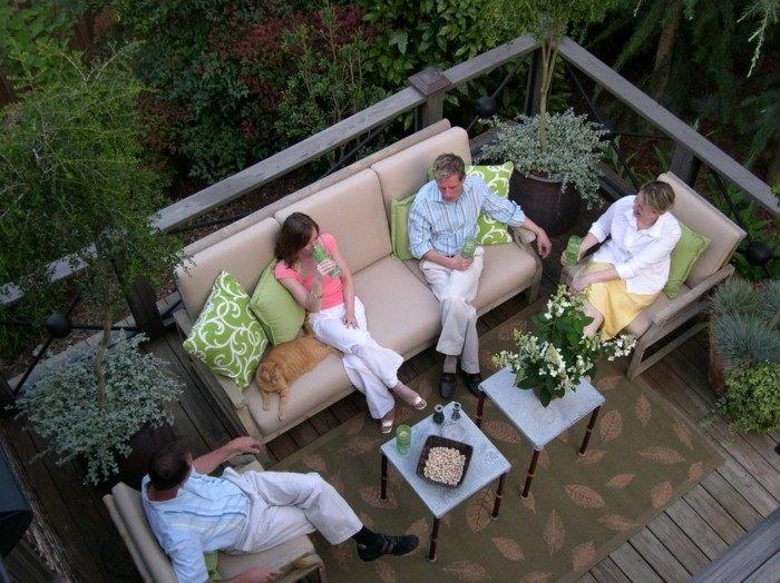 decorado casas forja natural familia mesas