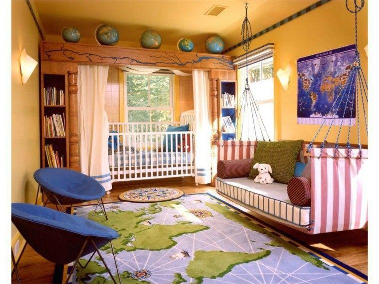 decorar habitacion bebe alfobra preciosa ideas