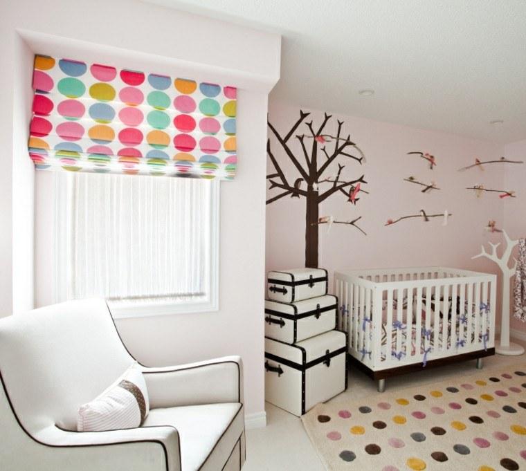 Decorar habitacion bebe y opciones para muebles