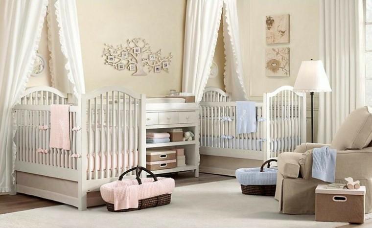 decorar habitacion bebe colores neutrales ideas