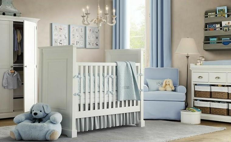 Decorar habitacion bebe y opciones para muebles -