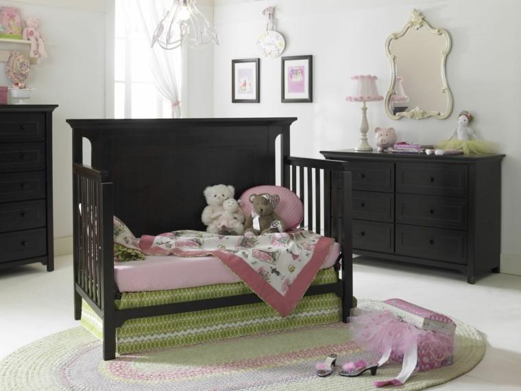 decoracion habitacion bebe espejo precioso ideas