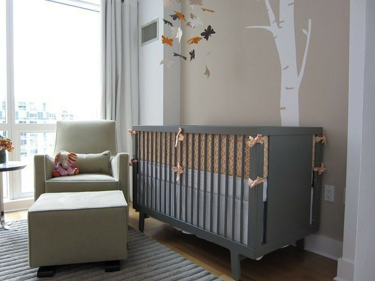 decora habitacion bebe sillon precioso ideas